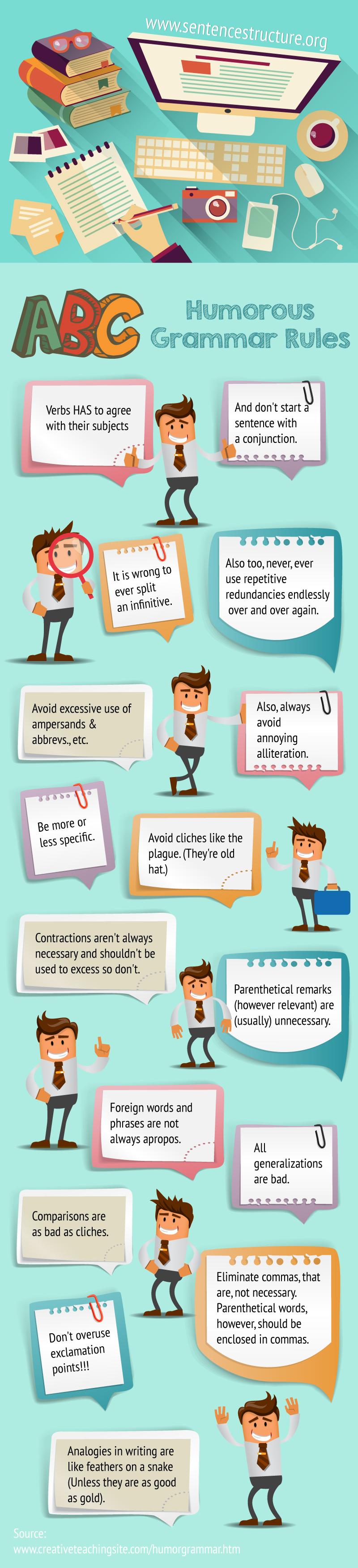 humorous grammar rules
