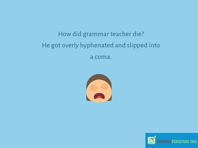 Useful English errors jokes