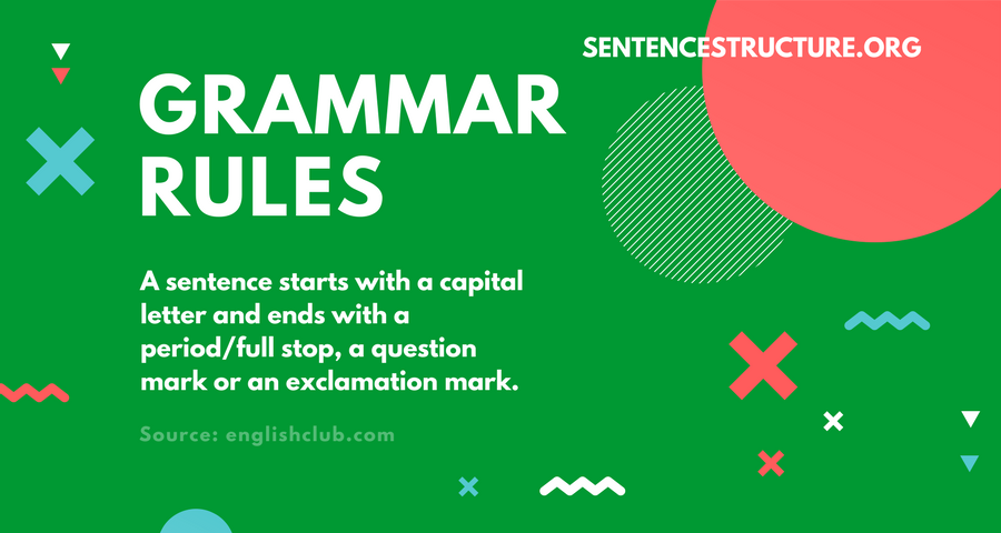 grammar rules about capitalization