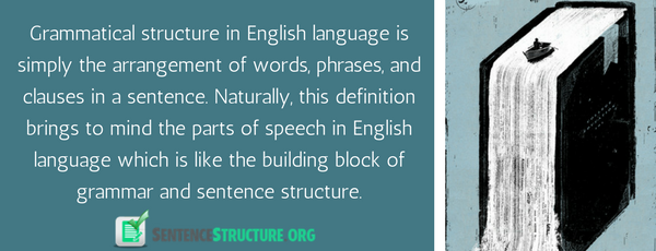 grammatical structures in english